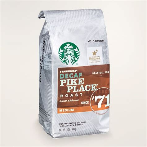 Starbucks® pike place medium roast ground coffee (40 oz.) is named after the iconic brand's first store in seattle's pike place market. STARBUCKS® Decaf Pike Place® Roast Smooth & Balanced Ground Reviews 2019