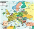 CIA Map of Europe: Made for use by U.S. government officials