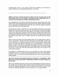Argumentative essay on technology chicago style sample paper ...