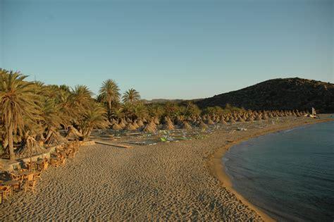 Palmenstrand von Vai | Mapio.net