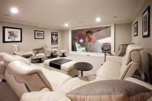 Hi Tech Heimkino Luxus Einrichtung Weie Lounge Mbel