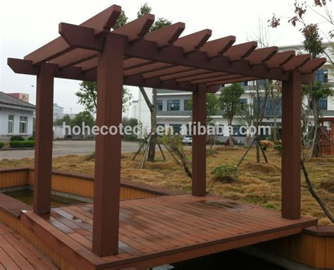 pergola types wood plastic composite gazebo pergola buy wood plastic