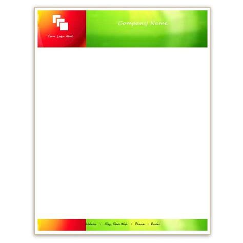 letterhead templates  microsoft word business