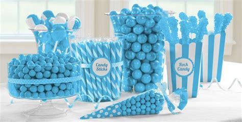 caribbean blue candy buffet party city spa pinterest