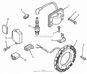 Lawn Mower 1990 Ignition System Diagram