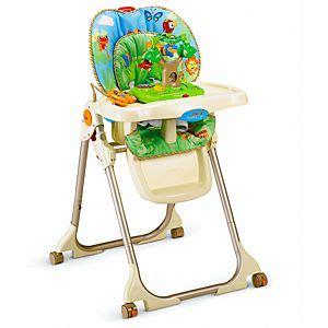 Rainforest Healthy Care High Chair  W3066 Fisherprice