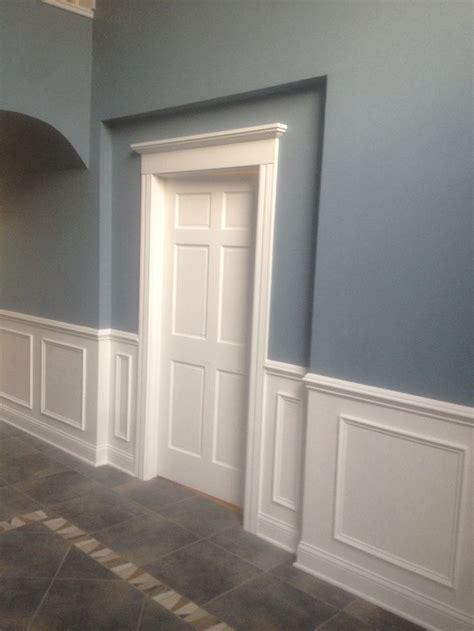 custom trim work bluecollarbuilt dining room