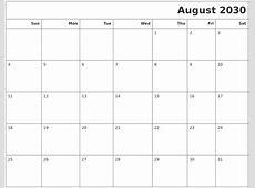 December 2030 Blank Printable Calendar
