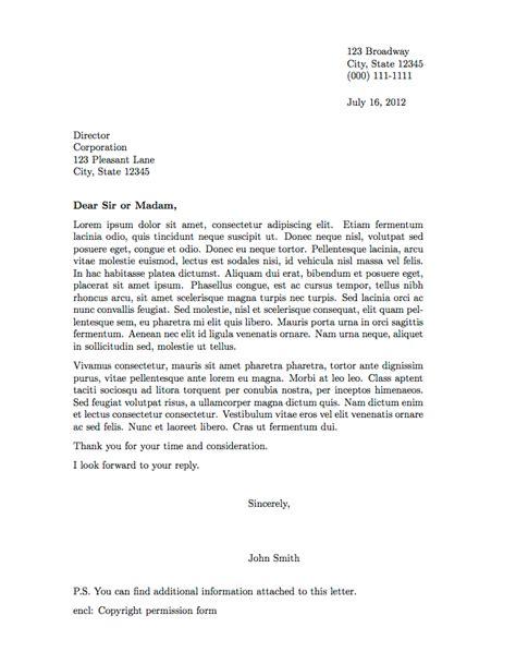professional letter format  formal letter