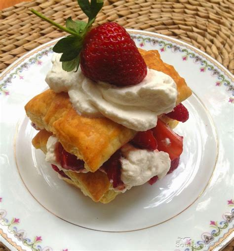 Strawberry Napoleons   A Southern Soul
