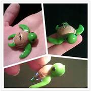 Baby Sea Turtle Cartoon Cute Baby Sea Turtle Charm by  Baby Shower Sea Turtle Cartoon
