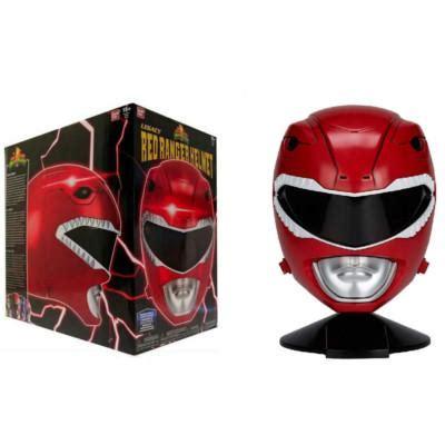 Mighty Morphin Power Rangers Legacy Red Ranger Helmet 1:1 ...
