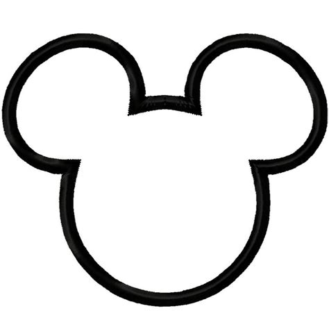 Disney Mickey Mouse Silhouette At Getdrawings Com Free