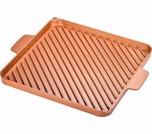 Tv 30 Cm : buy high street tv copper chef 30 cm non stick grill griddle pan free delivery currys ~ Teatrodelosmanantiales.com Idées de Décoration