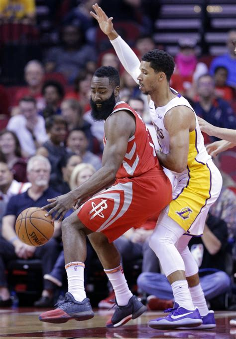 Kuzma, Lakers overcome Harden's 51 to end Rockets' streak ...