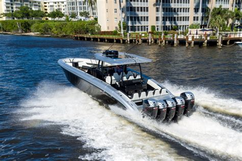 Xpress Boats Speed by Midnight Express Powerboats At Fort Lauderdale