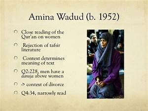 18. women in is... Amina Wadud Quotes