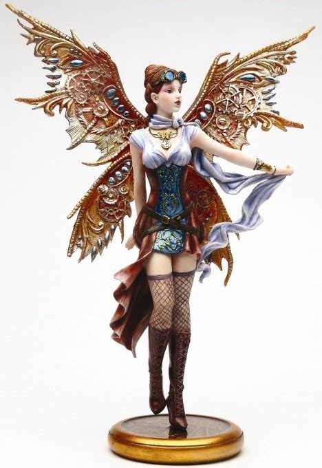 jess steampunk fairy figurine steampunk gifts fairyglencom