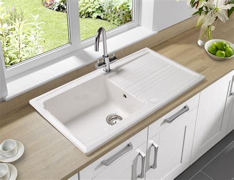astracast equinox  bowl ceramic white inset sink