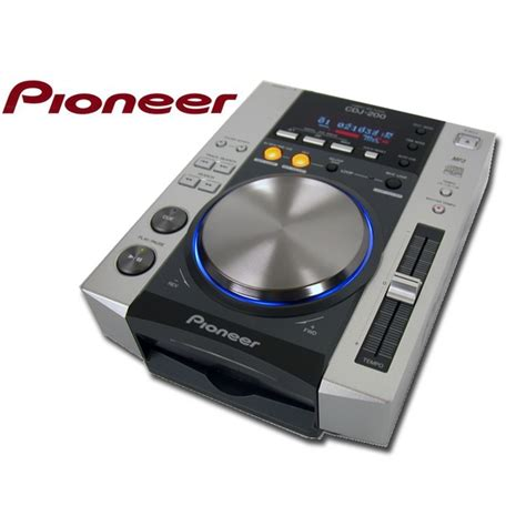 Pioneer Dj Cdj200 Cd Player Deck Cdj200 Inc Warranty Ebay