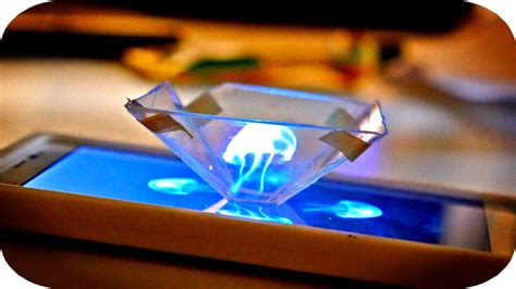 diy  hologramm fuers smartphone video auf