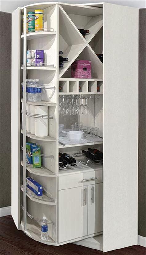 rotating butler pantry cabinets  wine storage racks