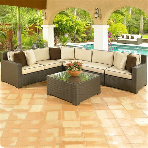 large size of patio furniture on a budget resin wicker 15 choices of cheap outdoor sectionals sofa ideas