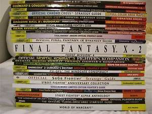 Collecting Video Game Strategy Guides