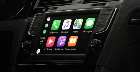 android auto apple carplay mirrorlink lecran deporte