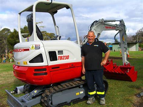 takeuchi tb compact excavator equipment focus
