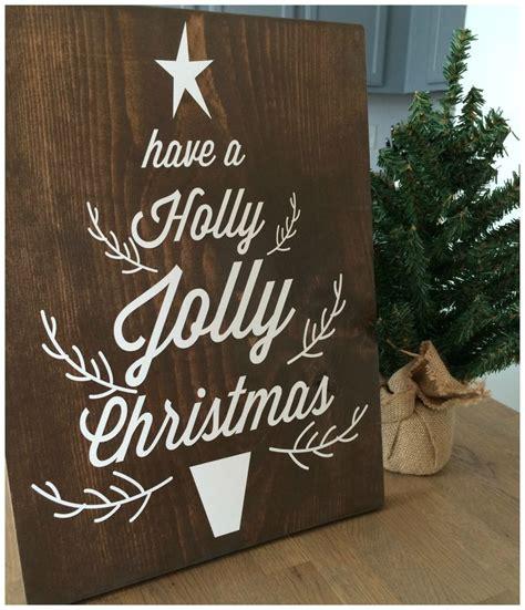 christmas wooden signs ideas  pinterest