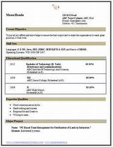 Ccna Resume Sample A Mechanical Engineer Resume Template Gives The Design Of