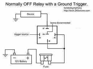 Wiring Diagram For A Relay