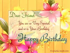 birthday wishes for friend easyday