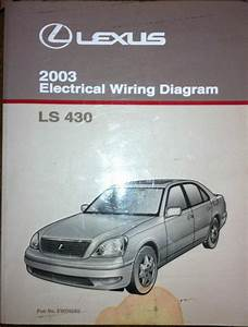 Sell 2003 Lexus Ls 430 Electrical Wiring Diagram