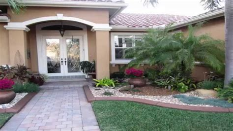 landscaping ideas front garden landscape ideas youtube