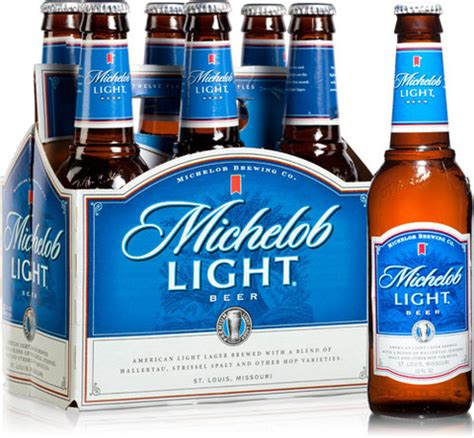 how many calories in michelob light domestic a cappione inc