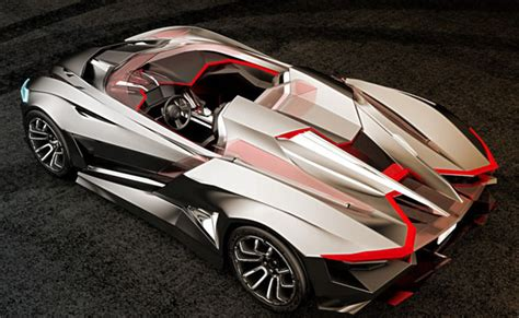 Car Design Concepts : Awesome Vapour Gt Concept Car Features Wind Sculpted Edges