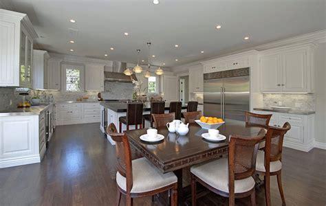 Open Plan Kitchen   Transitional   kitchen