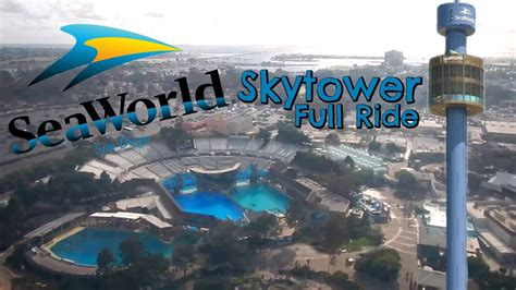 Seaworld San Diego Skytower Ride Pov