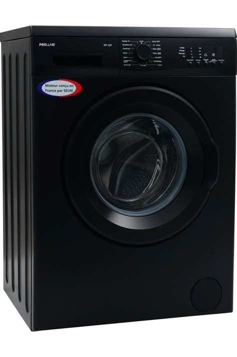 lave linge noir darty lave linge noir darty 28 images lave linge hublot proline fp 127 noir mat 4153561 darty