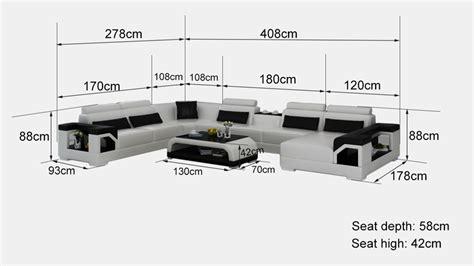 canap sur mesure en ligne canapé d 39 angle panoramique en cuir nimes xl 8 places