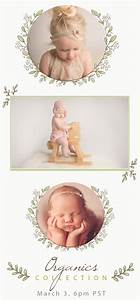 the organics collection newborn photography props With mad mimi templates