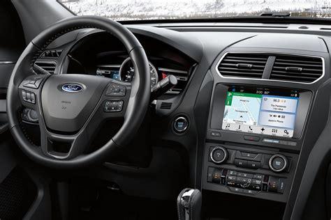 ford explorer interior 2018 jeep grand vs 2018 ford explorer comparison