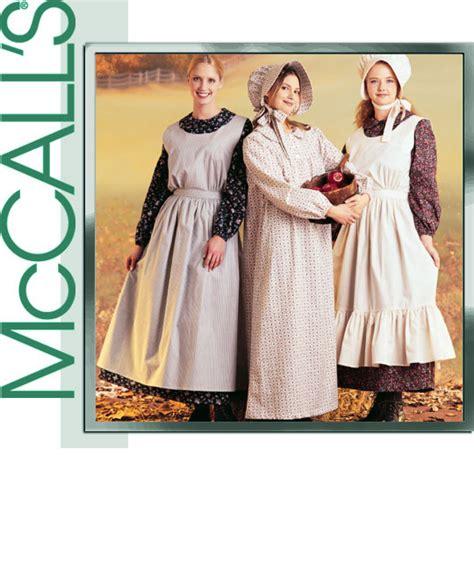 deguisement maison dans la prairie adulte mccall s 9423 pioneer dress apron bonnet