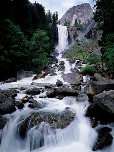 Vernal Fall Yosemite National Park Large Piece