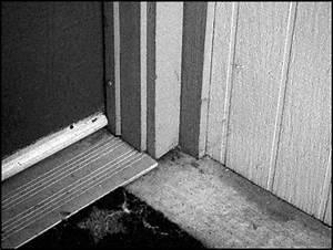 comment poser un seuil de porte With barre seuil porte garage