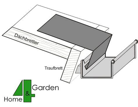 ortblech mit wasserfalz dachrinnen f 252 r ihr gartenh 228 user aus metall kunststoff epdm folien dachentw 228 sserung