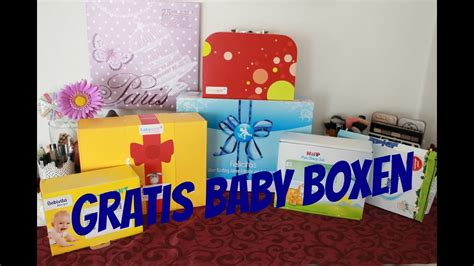gratis babyboxen video unboxing youtube