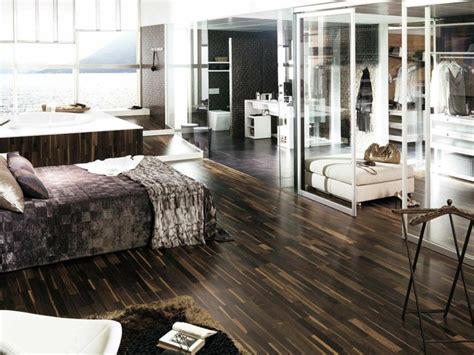revêtement de sol chambre à coucher revêtement de sol avec parquet conseils astuces et photos